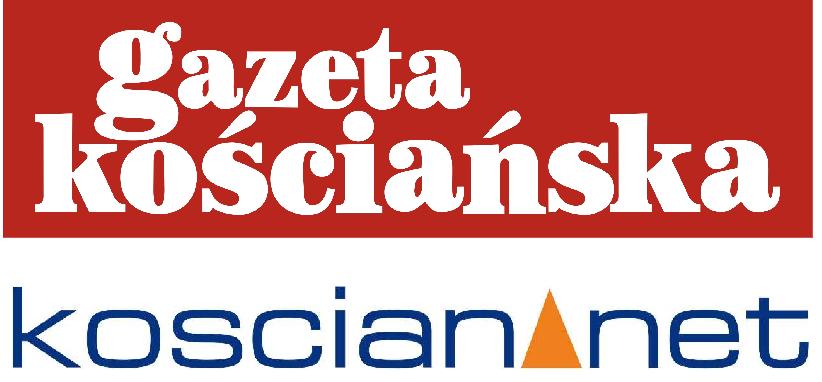 """Logo """"Gazety Kościańskiej"""" oraz portalu Kościan.net"""